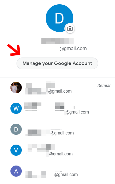 Manage Your Google Account Settings