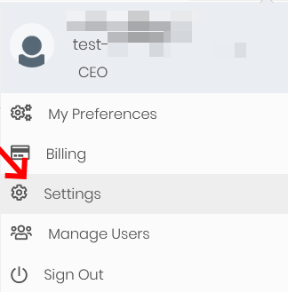 Settings in Simply CRM for Time Tracker